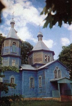 Церковь Святого Николая, с.Семешково