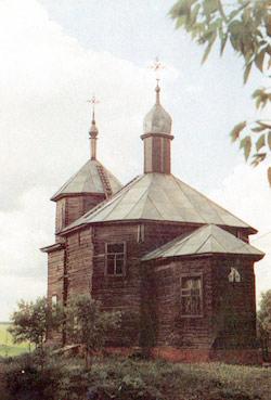 Церковь Архангела Михаила, с.Горяны