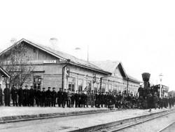 Открытие станции Унеча