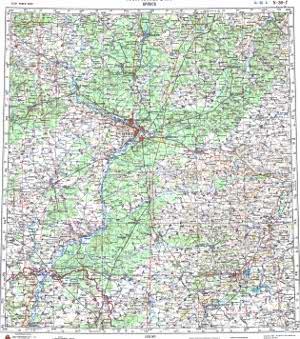 Карта Гомель