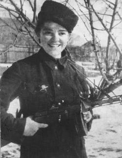 Вера Соловьева отважная юная партизанка