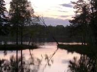 Вечер на озере