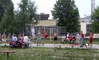 волейбол во дворе