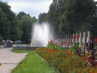 фонтан на алее героев